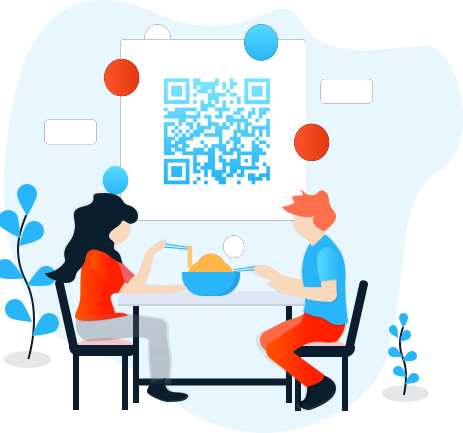 Digital waiter QR